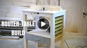 ROUTER TABLE Build! With Storage!