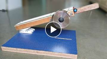 How to Make a Miter Saw / Hand Saw at Home