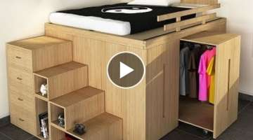 Great Space Saving Ideas Smart Furniture Compilation 2017#3