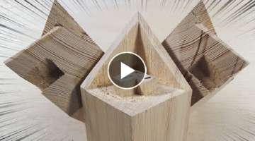 #Amazing Japanese Carpenters Craftsmanship Skills - Incredible Techniques Smart Making Joinary Ja...