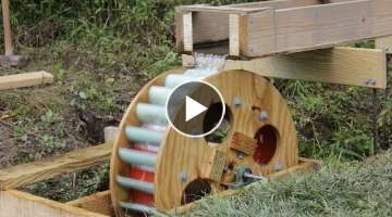 Waterwheel Microhydro P5, Waterwheel Installation