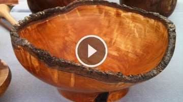 Bradford Pear Natural Edge Bowl
