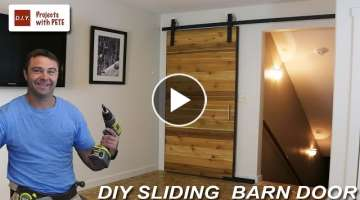 How to Make a Sliding Barn Door