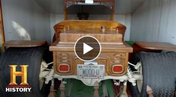 American Pickers: This Wooden Model T Belongs in a Museum! (Season 17, Episode 7) | History