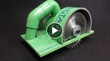 How to Make a Circular Saw Using 775 Motor and PVC Pipe