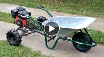 Homemade 200cc WHEELBARROW !? PART 1