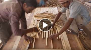 Creative Woodworking Workers With Amazing Skills