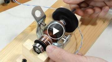 How DC motors and universal motors work