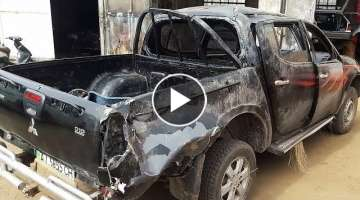 Mitsubishi L200 – Full rebuild start to finish