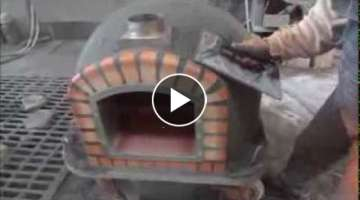 How it's made wooden brick ovens