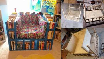 How To Make A Bookshelf Chair