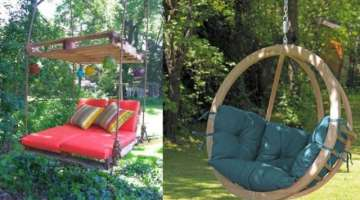 15 Beautiful Wooden Swings