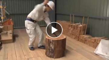 Amazing Woodworking Traditional Japanese Technology Still Being Used - Entrance of Shingle Roofin...