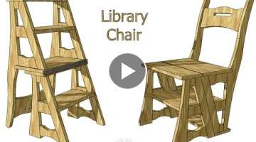 Creating a Transforming Chair Ladder