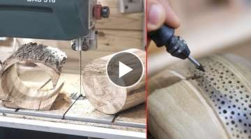 20 Amazing WoodWorking Ideas Skills Tools and Tricks. Wooden DIY Projects