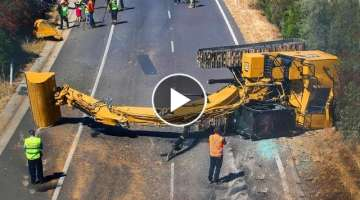 Extremely Dangerous Excavator Fails & Heavy Equipment Gone Wrong Compilation!