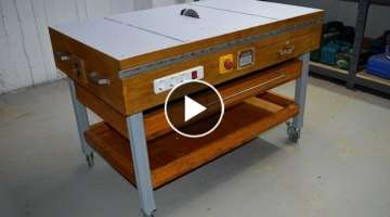 DIY Table Saw - How to Make A Homemade Table Saw