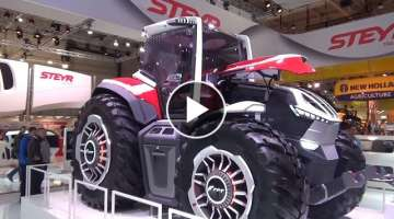 The STEYR tractors 2020