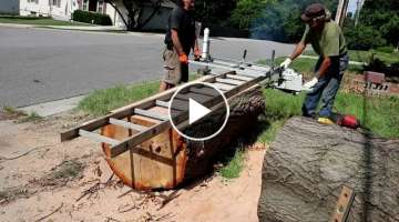 Milling with the Cheap 105cc Chainsaw