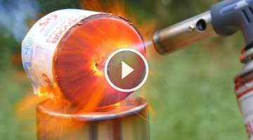 TOILET PAPER VS GAS TORCH