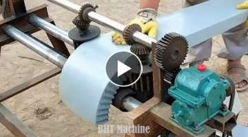 Innovative Mechanical Machinery I've Never Seen, Extremely Operating Factory Operation, Workers W...