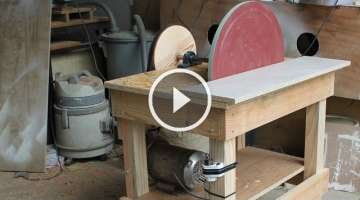 Disk Sander Homemade - 20'' Disc