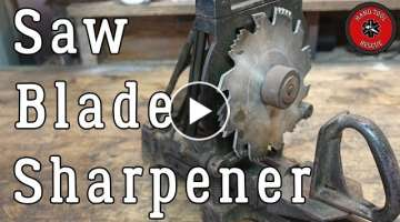 Antique Saw Blade Sharpener [Restoration]