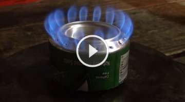 How to make a penny can stove - HD