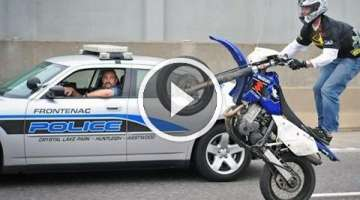 Motorcycle Stunters VS. Cops Compilation