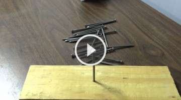 Unbelievable Carpentry Trick