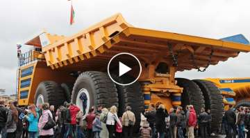 The World's Largest Dump Truck - Belaz 75710