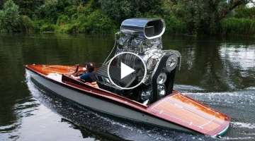 Ultimate Crazy Boat Engine Swaps You Never Seen