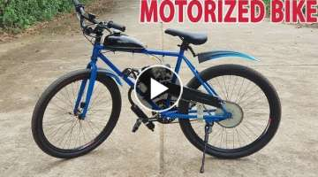 Build a Motorized Bike at home - Tutorial