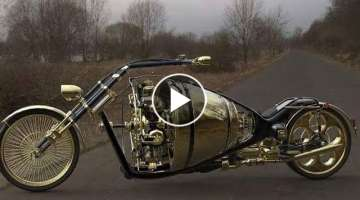 Ultimate Turbo Motorcycles with Airplane Engines