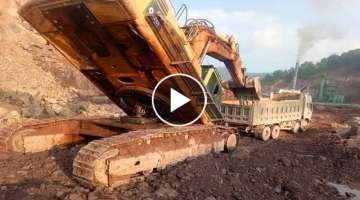 Excavator , Crane & Truck Fails Compilation In China ! Extremely Dangerous Idiots Operator Machin...