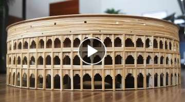 How to make The Ancient Colosseum in Rome Hold
