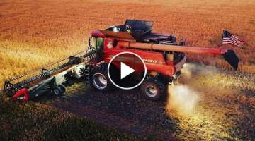 Harvest Like You've Never Seen Before|Stellar Drone Footage