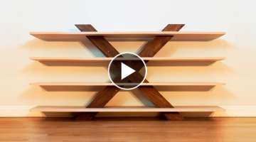 Designing and Building The Ultimate Xbox Stand - Woodworking