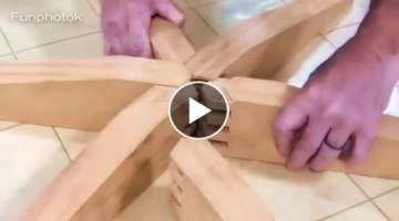 20 World Amazing WoodWorking Skills and Ideas.