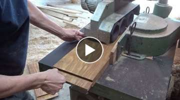 How To Build Door and Window Easy, Carpenter Assemble A Wood Door