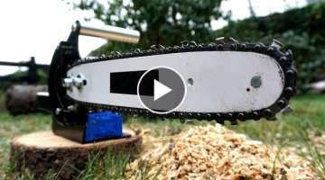 Making a Battery Powered Chainsaw
