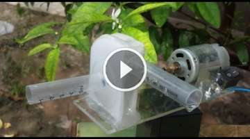 How to Make a Powerful WATER PUMP at Home