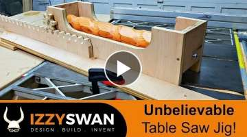 Unbelievable Table Saw Jig | How To Video