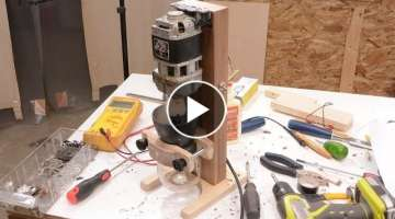 Motorizing a hand-cranked coffee grinder