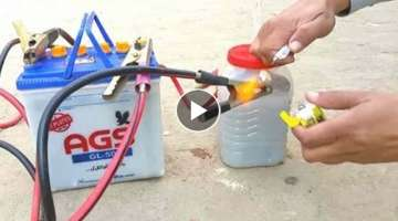 How To Make A Hydrogen Generator | Water To Fuel Converter