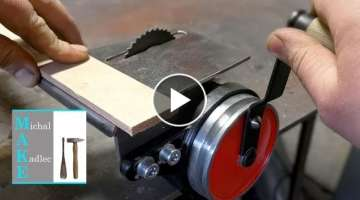 Hand powered circular saw rescue