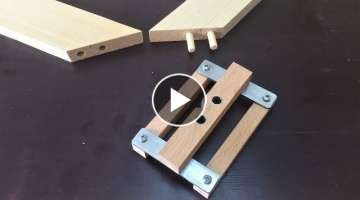 Making a Self-centering Doweling Jig