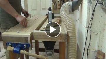 Workbench with Dust Collection