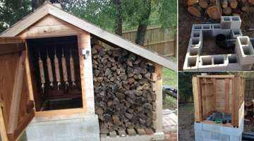 How to Build a Smokehouse