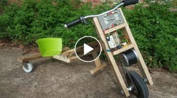 How to make Electric Drift Bike
